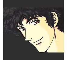 Spike Spiegel from the Anime/Manga Cowboy Bebop Original Digital Painting (face only) Photographic Print
