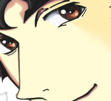Spike Spiegel from the Anime/Manga Cowboy Bebop Original Digital Painting (face only) Sticker