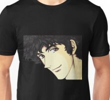 Spike Spiegel from the Anime/Manga Cowboy Bebop Original Digital Painting (face only) Unisex T-Shirt