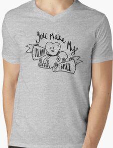 you make my heart race Mens V-Neck T-Shirt
