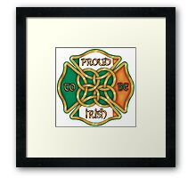 Irish Firefighter Framed Print