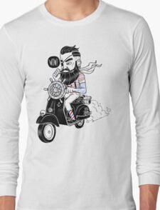 Vespa : Enjoy The Ride Long Sleeve T-Shirt