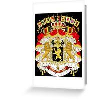 Great Coat of Arms of Belgium Greeting Card