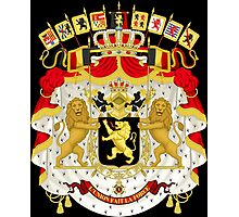 Great Coat of Arms of Belgium Photographic Print