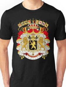 Great Coat of Arms of Belgium Unisex T-Shirt