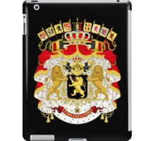 Great Coat of Arms of Belgium iPad Case/Skin