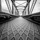 Harties bridge B&W by Shaun Colin Bell