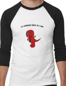 RexPool Men's Baseball ¾ T-Shirt