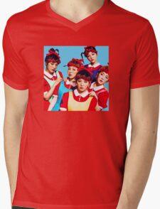 Red Velvet The Red Blue Ver Kpop Mens V-Neck T-Shirt