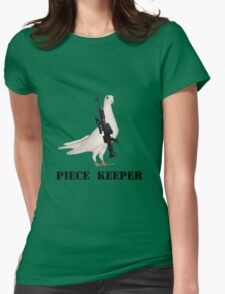 PIECE KEEPER Womens Fitted T-Shirt