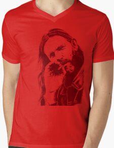 ROCK N' ROLL HERO Mens V-Neck T-Shirt
