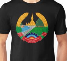 Emblem of Laos Unisex T-Shirt