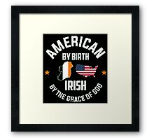 Irish American Framed Print