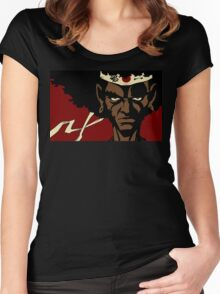 Black Samurai - cool Women's Fitted Scoop T-Shirt