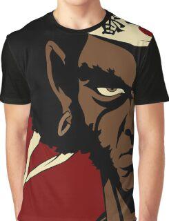 Black Samurai - cool Graphic T-Shirt