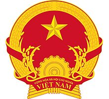Coat of Arms of Vietnam Photographic Print