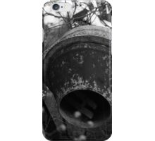 Rusty Old Cement Mixer iPhone Case/Skin