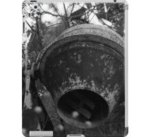 Rusty Old Cement Mixer iPad Case/Skin