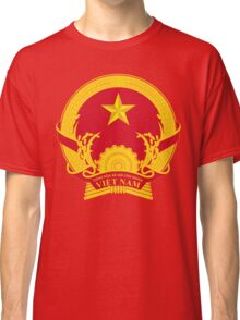 Coat of Arms of Vietnam Classic T-Shirt