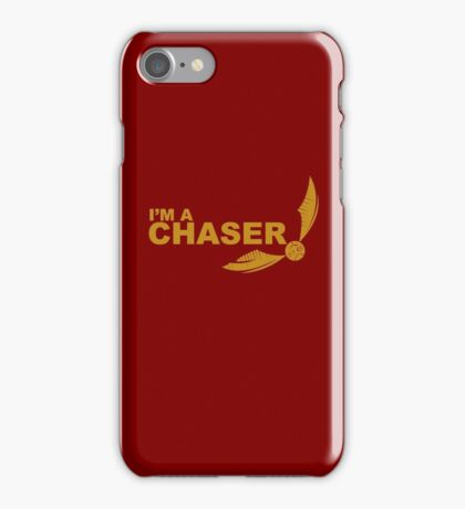 I'm a Chaser - yellow  iPhone Case/Skin