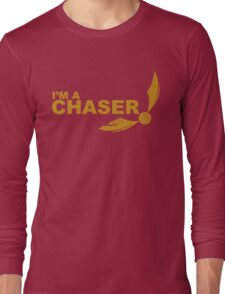 I'm a Chaser - yellow  Long Sleeve T-Shirt