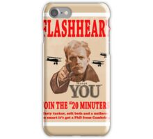 FLASHHEART WANTS YOU iPhone Case/Skin
