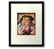 Vintage Woman 1 Framed Print