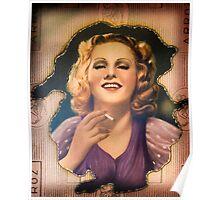 Vintage Woman 1 Poster
