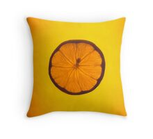 Juicy Lemon Throw Pillow
