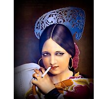 Vintage woman 2 Photographic Print