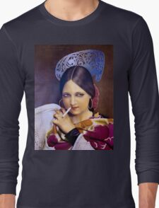 Vintage woman 2 Long Sleeve T-Shirt