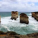 rugged Victorian coastline near the Twelve Apostles by gaylene