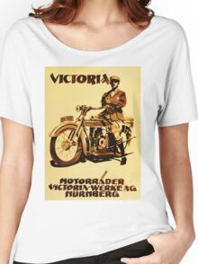 VICTORIA : Motorrader victoria Women's Relaxed Fit T-Shirt