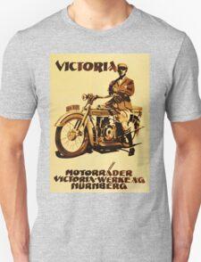 VICTORIA : Motorrader victoria Unisex T-Shirt