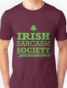 Irish Sarcasm Society T-Shirt