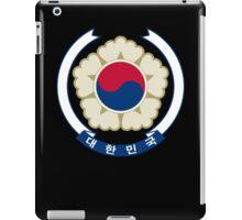 Emblem of South Korea iPad Case/Skin