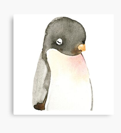 Mr. penguin Canvas Print