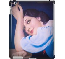 Vintage Woman 3 iPad Case/Skin