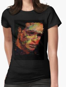 Marlon Fucking Brando. Womens Fitted T-Shirt