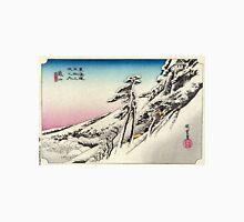 Kameyama - Hiroshige Ando - 1833 Unisex T-Shirt