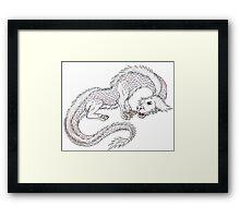 Falcor the luck dragon  Framed Print