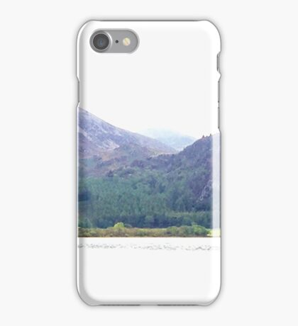 Bowness Knott and Ennerdale Water, Cumbria, UK iPhone Case/Skin
