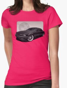 bmw : 1997 740il Womens Fitted T-Shirt