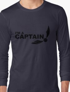 I'm a Captain Black Long Sleeve T-Shirt