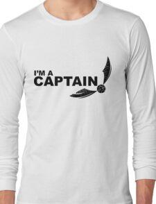 I'm a Captain Black Long Sleeve T-Shirt