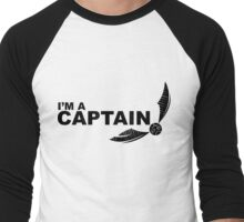 I'm a Captain Black Men's Baseball ¾ T-Shirt