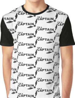 I'm a Captain Black Graphic T-Shirt