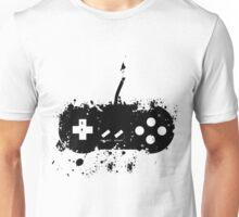 Paint Splat SNES Controller Unisex T-Shirt