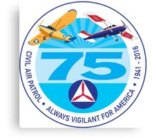 75 Years of Civil Air Patrol Canvas Print