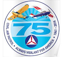 75 Years of Civil Air Patrol Poster